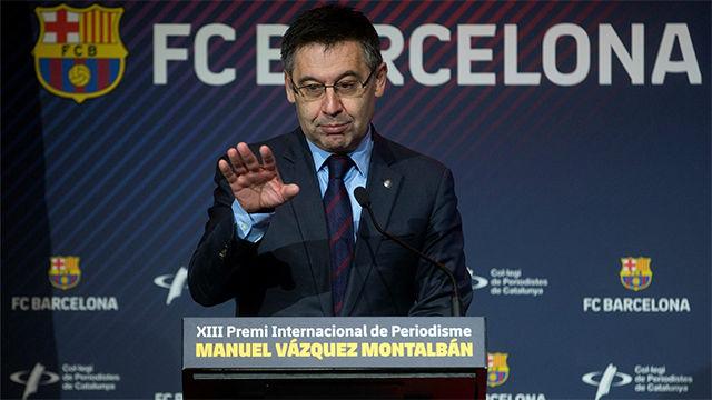 Bartomeu: Deberíamos jugar tres partidos por temporada en el extranjero