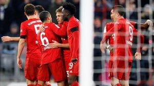El Bayern no falla en el Allianz