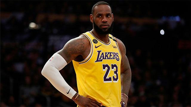 La bestialidad de LeBron James