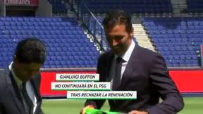 Buffon abandona el PSG a sus 41 años