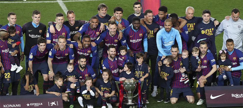 ¡Campeones! El Barça conquista su Liga número 26 (ES)