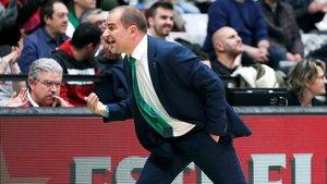 Carles Duran, entrenador del Joventut de Badalona