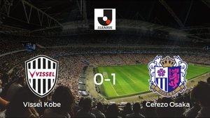 El Cerezo Osaka derrota 0-1 al Vissel Kobe y se lleva los tres puntos