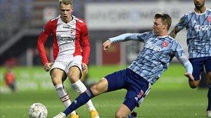 El choque fue un paseo triunfal para un Ajax muy superior