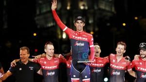 Contador recibió una ovación histórica