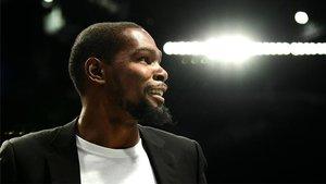 A Durant le gustaría acabar su carrera en el Barça