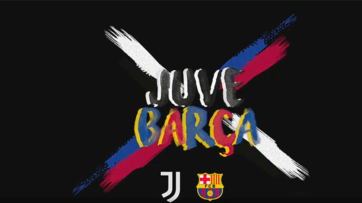 El espectacular vídeo de Barça y Juventus para promocionar el duelo de Champions