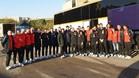 La expedición azulgrana buscará en Pescara el pase a la Final Four