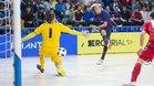 Ferrao marcó el segundo tanto en la goleada azulgrana