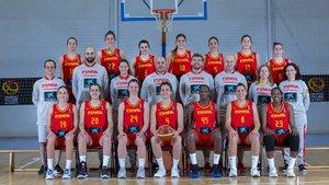 Foto oficial de la selección española femenina