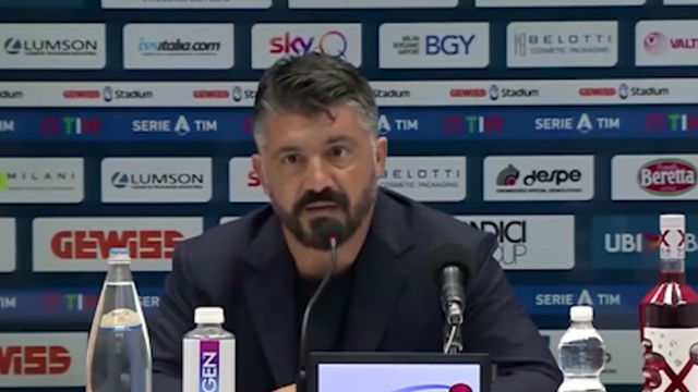 Gattuso piensa en el Barça: Debemos llegar en la mejor forma posible