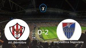 La Gimnástica Segoviana derrota 0-2 al Atl. Bembibre y se lleva los tres puntos