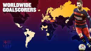 El gol no tiene fronteras para el FC Barcelona