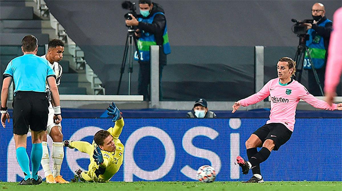 Griezmann sigue negado con el gol