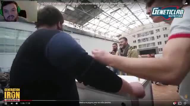 La insuperable narración de un torneo de tortazos en Rusia