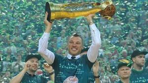 Jasikevicius repitió título de la liga lituana con el Zalgiris