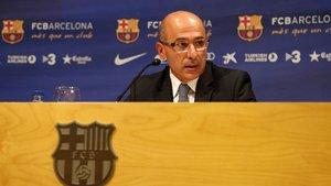 Joan Bladé agradeció a la UEFA la confianza depositada en el club