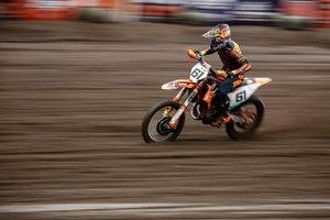 Jorge Prado, bicampeón del mundo de motocross