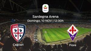 Jornada 12 de la Serie A: previa del duelo Cagliari - Fiorentina