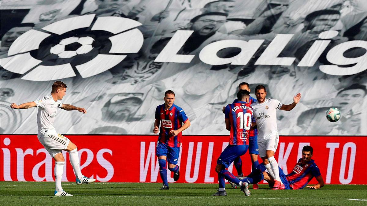 Kroos abrió el marcador en el Di Stéfano. Así narró la radio el gol del alemán
