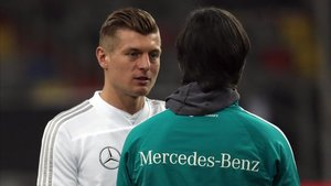 Kroos es fijo en el esquema de Löw