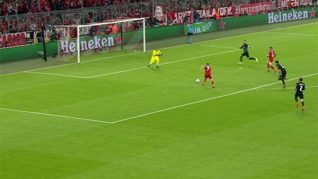 LACHAMPIONS | Bayer Múnich - Real Madrid (1-2): Ribery se quedó solo ante Keylor y falló una ocasión clara