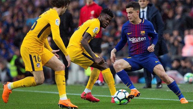 LALIGA | FC Barcelona - Atlético (1-0): Coutinho realizó su mejor partido con el Barcelona