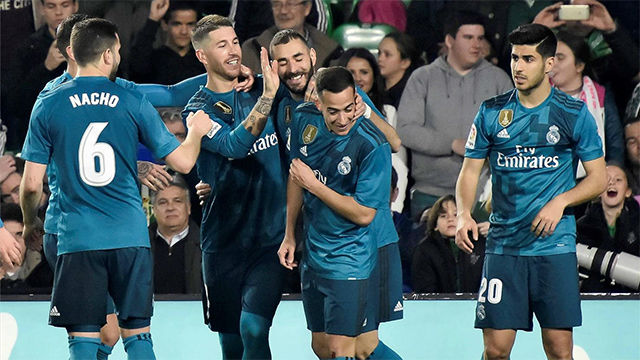LALIGA | Betis - Real Madrid (3-5)