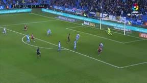 LALIGA   Deportivo - FC Barcelona (2-4): El primer gol de Messi