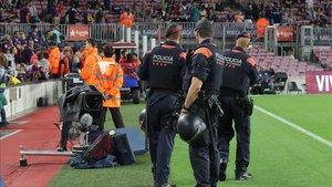 Los Mossos desplegarán un gran dispositivo para el Barça-Madrid