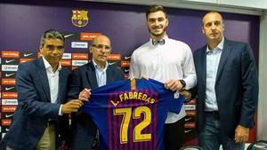 Ludovic Fàbregas ha sido presentado por el Barça Lassa
