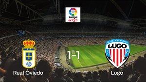 El Lugo saca un punto al Real Oviedo a domicilio 1-1