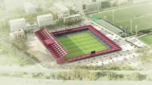 Maqueta del Estadio Johan Cruyff