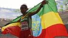 Mare Dibaba, primera etíope que gana la maratón en un Mundial