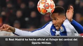 Militao, nuevo jugador del Real Madrid