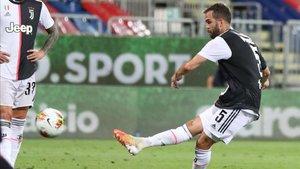 Miralem Pjanic no encajó bien la eliminación de la Juventus