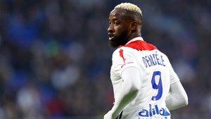 Moussa Dembélé, delantero del Olympique de Lyon