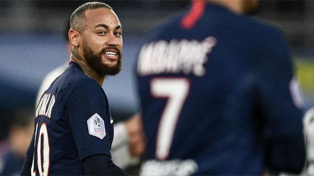 Neymar se autoexpulsó ante el Girondins con una feísima entrada