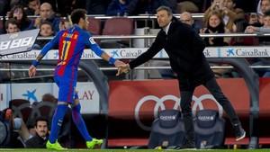 Neymar podría reencontrarse pronto con Luis Enrique