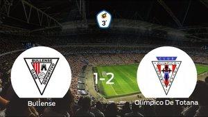 El Olímpico De Totana gana 1-2 al CD Bullense y se lleva los tres puntos