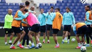 El optimismo que se respira en el cuadro blanquiazul permite al equipo afrontar con valentía la visita al Sánchez Pizjuán.