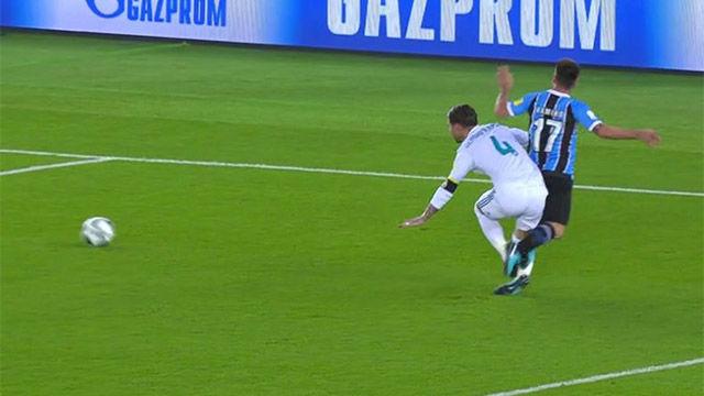 El penalti de Sergio Ramos en la final del Mundial de Clubes