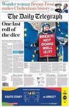 Portada del Daily Telegraph del 15 de Marzo de 2019