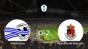 El Pozuelo de Alarcón gana 0-2 en el feudo del Villanueva del Pardillo
