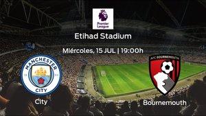 Previa del partido: el Manchester City recibe en casa al Bournemouth