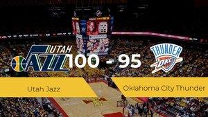 Primera jornada de la NBA: Utah Jazz 100 - 95 Oklahoma City Thunder