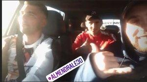 El primo de Reyes, superviviente del accidente, vuelve al Sánchez-Pizjuán