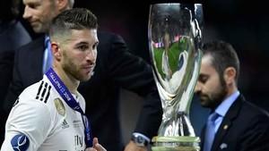 El Real Madrid dejó pasar la Supercopa de Europa después de ganar las últimas 13 finales internacionales que había jugado