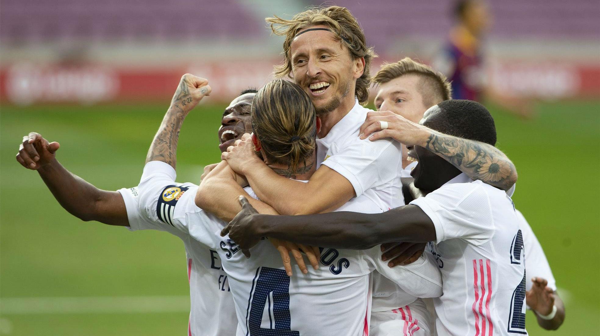 El Real Madrid y el VAR se llevan el Clásico del Covid