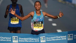 Roza tiene en Maratón la séptima mejor marca de todos los tiempos